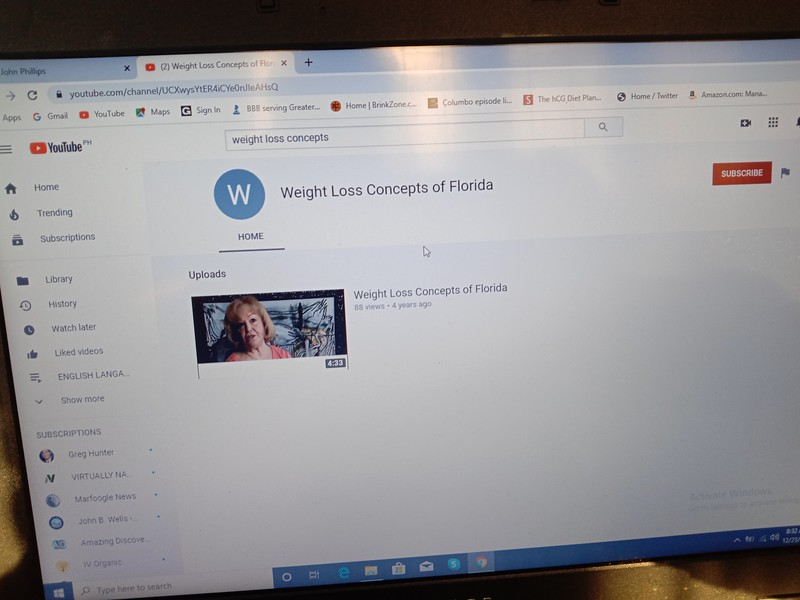 Weight Loss Concepts of Florida, also known as Bouari Clinic and in 2020 The SOZA CLINIC. This VIDEO IS IDENTICAL TO THE BOUARI CLINIC FRANCHISE PROMOTIONAL VIDEO.