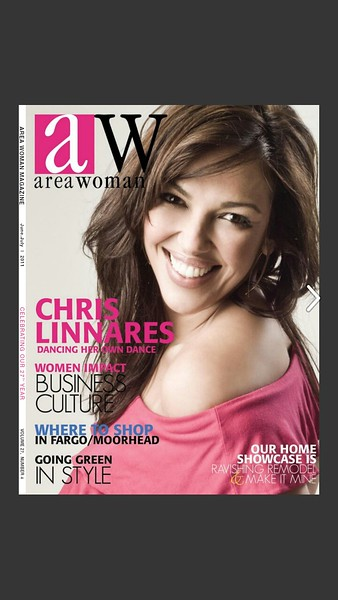 Area Woman Magazine 2011 Interview with Spray Your Fat Away