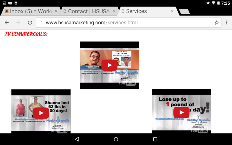The now deleted and PARKED HSUSAmarketing.com