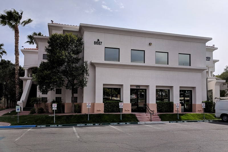 Emile Bouari's weight-loss clinic was in this office complex in Las Vegas. Photo: Trevor Aaronson for The Intercept Same EXACT address of Healthy Systems USA up to 2016
