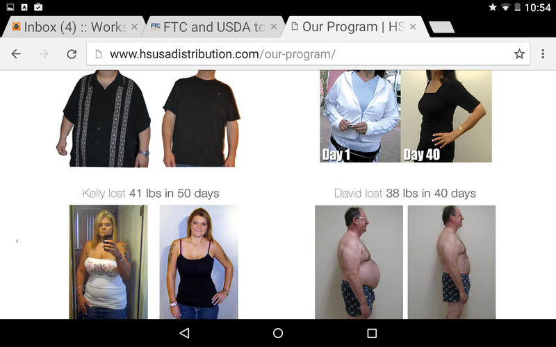 These customer photos are from Emile Bouari program but ALSO appear on the current 2021 HSUSA website in 2020