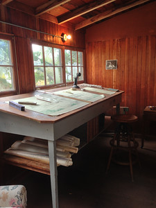 Julia Morgan's studio