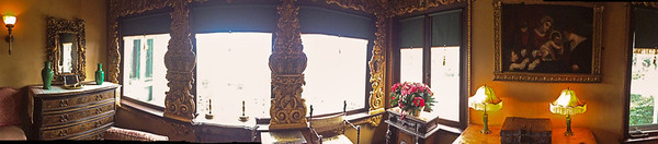 iPhone panorama inside a guest house