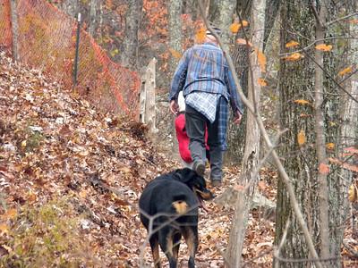 Lu and Lanny Climb the Mountain