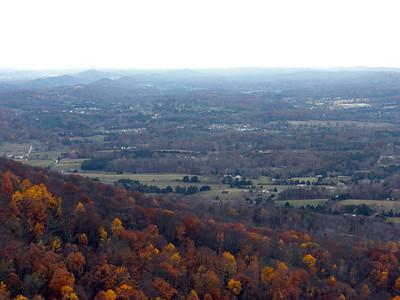 Color Below the Northern Overlook