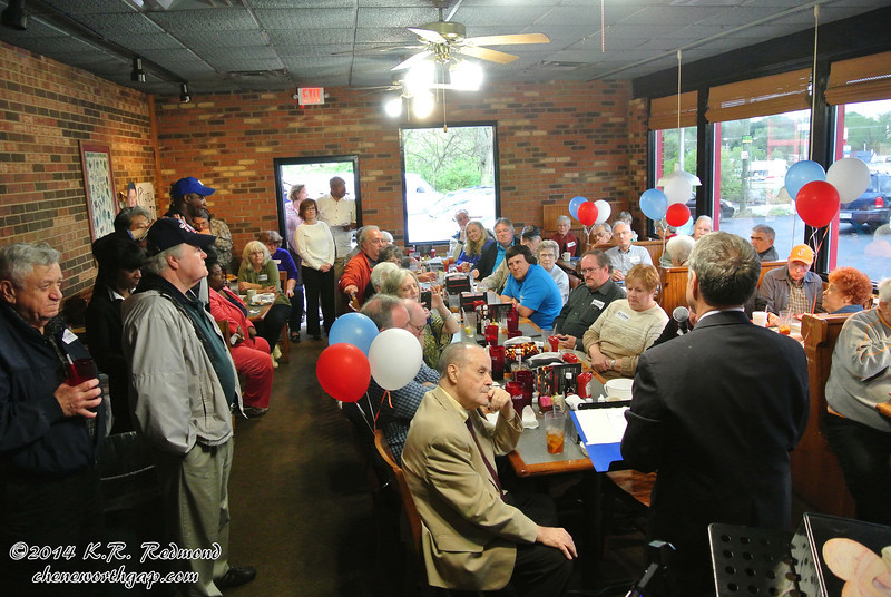 """Bill Owen Speaks at his """"All American Picnic"""" Campaign Kick-Off"""