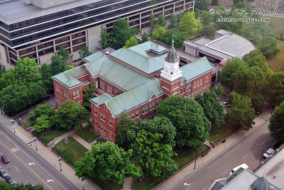 The Knox County Courthouse from Club LeConte