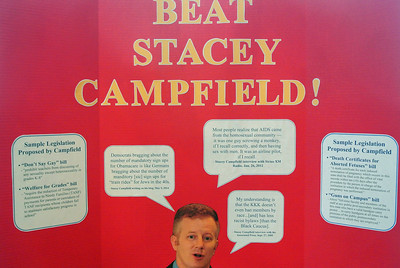 Beat Stacey Campfield