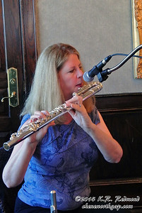 Jeannie on the Alto Flute