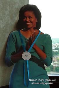 Michelle Obama at Club LeConte
