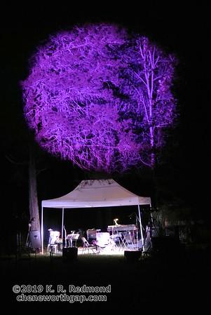 Setting Up for Purple Rain