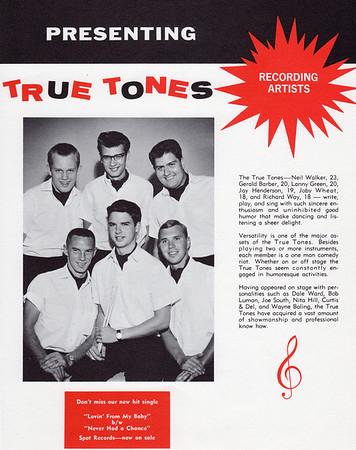True Tones Flyer (1964)