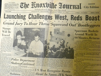 13 April, 1961 Knoxville Journal