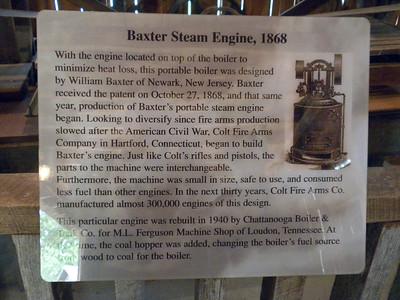 The Baxter Steam Engine (1868)