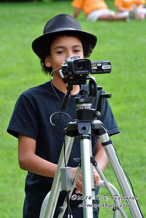 Brazil Mans the Video Camera