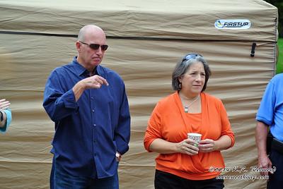 Vice Mayor Nick Pavlis, Mayor Madeline Rogero