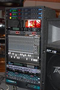Harmonizers, Mixer, and Amps