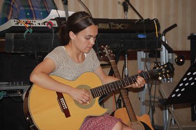 Lynn on Guitar