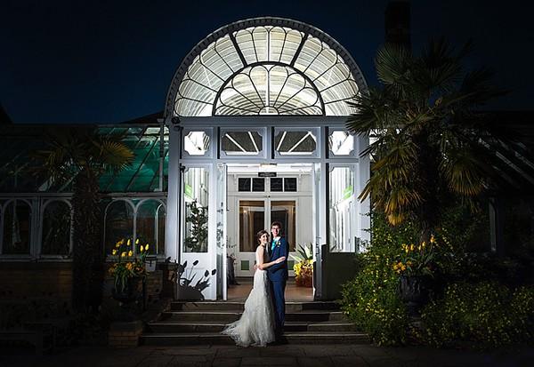 Natalie & Tom Birmingham Botanical Gardens