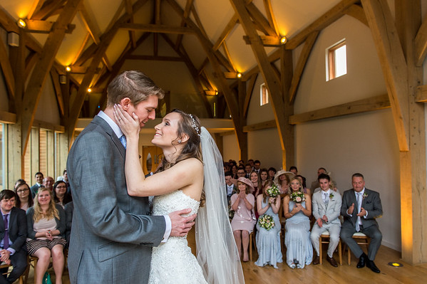 BLOG - Susie & Neal's Winter Wedding at the Mill Barns