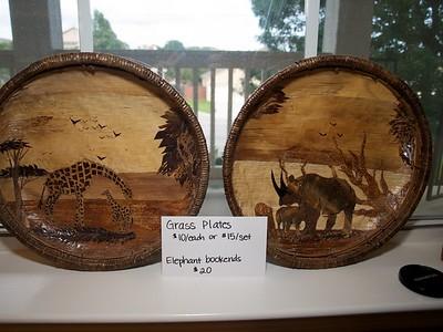 Grass Plates - $10/each or $15/set [Kenya]