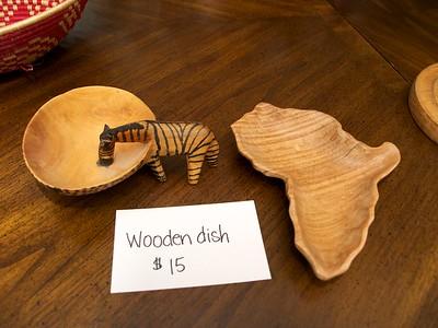 Wooden dishes - $15 each [Tanzania] [Kenya]