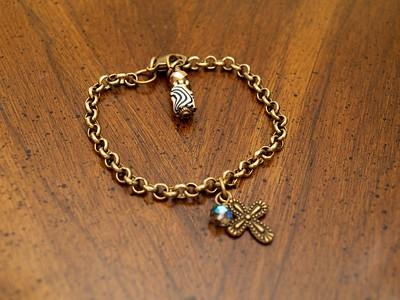 Chain Cross Bracelet - $10 [Swaziland]