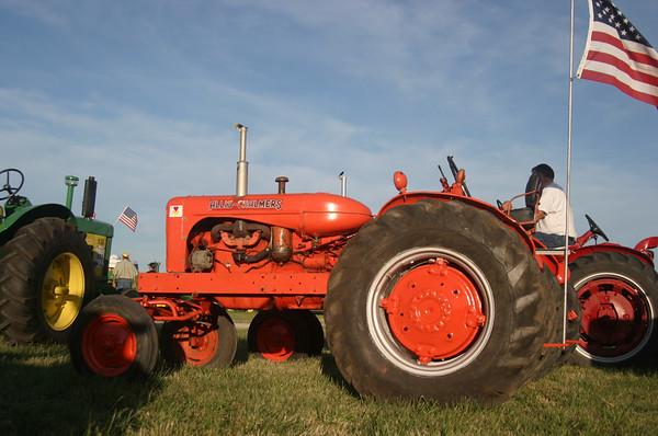 Tractors -- Orange