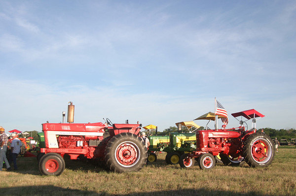 Tractors -- Red