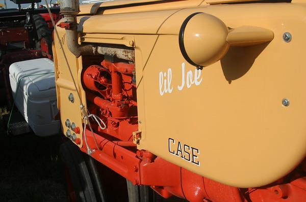 Tractors -- Yellow