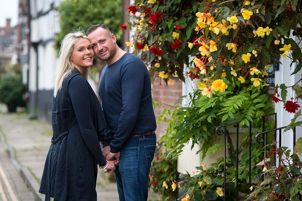 Katy & Brett Wedding Preshoot in Bewdley,