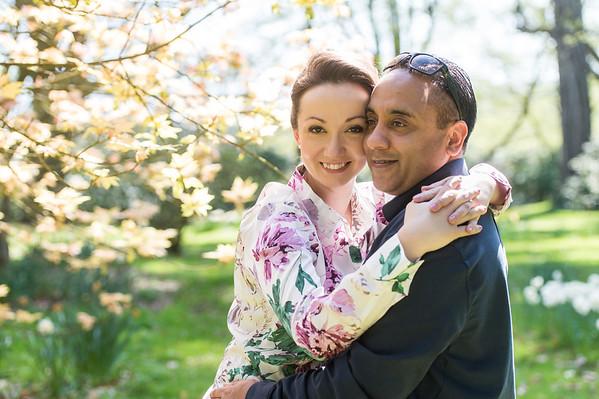 Laura & Dan Wedding Pre-shoot at Arley Arboretum