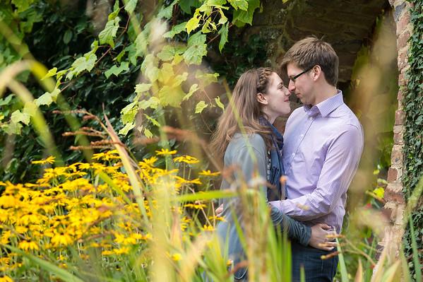 Natalie & Tom Pre-shoot  Arley Arboretumn