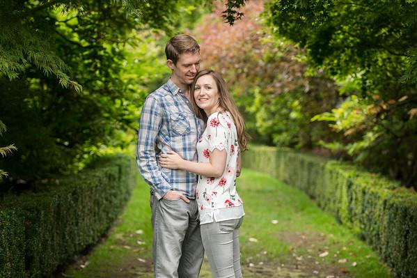 Susie & Neal Wedding Pre-shoot at  Arley Arboretumn