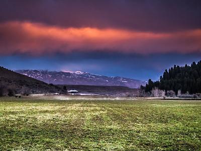 Twilight on Hornet Creek