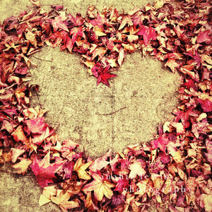 Messin' the sidewalk, Heart, Venice, California (square print)