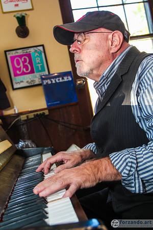 At the Saloon Piano