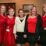 Tara Defler, Alisha Duvall, Robin Byrd, Carrie Orman and Kathy Wiederhold.