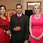 Hosts Sara Rashid and Dr. Gauhar Chaudhary and NP Stephanie Ramser.