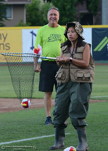 The Chico Heat play Wednesday, May 31, 2017, against the Portland Pickles at Nettleton Stadium in Chico, California. (Dan Reidel -- Enterprise-Record)