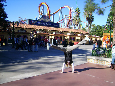 Heather Fry - Knott's Berry Farm, California