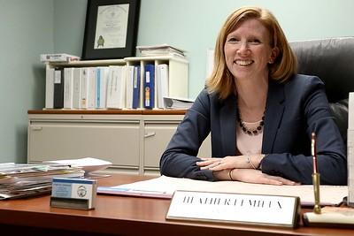 Heather Lemieux Lunenburg town manager, Feb. 22, 2018