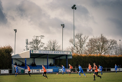 Heather St. John's v. Leicester Road, Midland League Div. 1, 17/03/2018