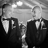 Groom and Best Man Share a Joke