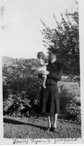 Josephine& MaryLynn taken just before Josephine left for Minneapolis, MN July 1940