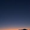 The sunrise moon. In Daybreak, South Jordan, Utah