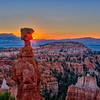 Thor's Hammer in Bryce Canyon at Sunrise