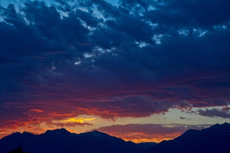 Sunrise over Daybreak, South Jordan, Utah