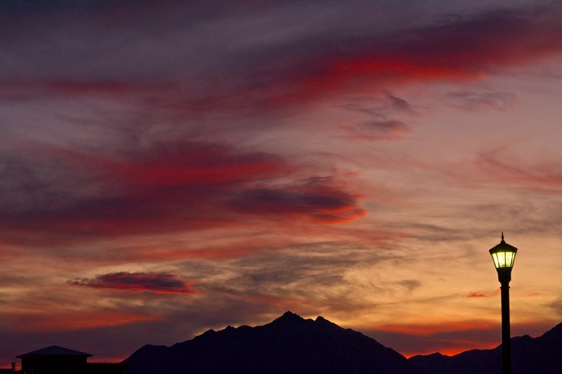 Sunrise. In Daybreak, South Jordan, Utah