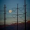 Setting power moon